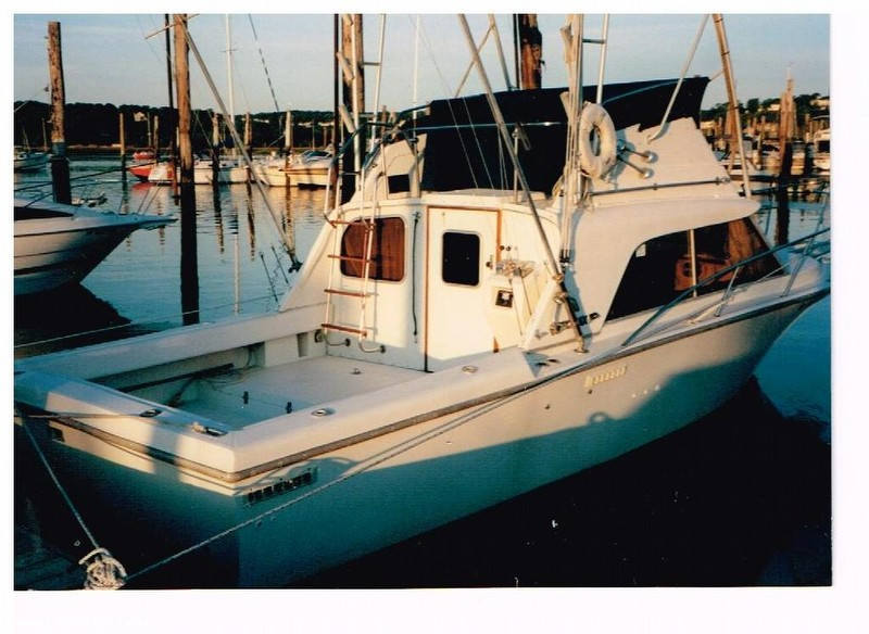 1986 used phoenix 29 sportfish sports fishing boat for for Fishing boats for sale in ny