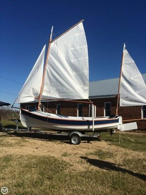 Used Custom 17 Daysailer Sailboat For Sale
