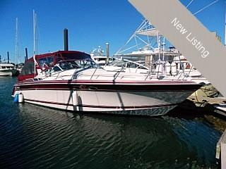 Used Wellcraft 34 Gran Sport Limited Edition Express Cruiser Boat For Sale