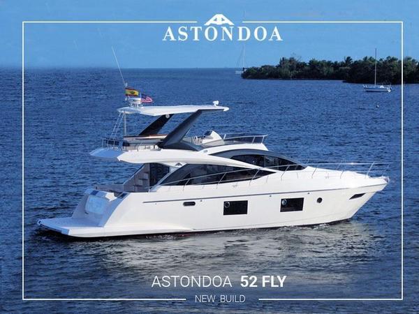 New Astondoa 52 Fly Motor Yacht For Sale