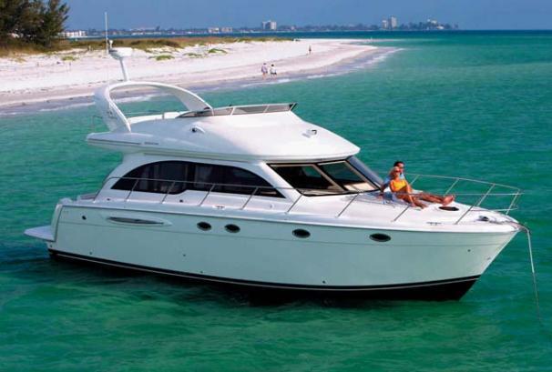 2008 Used Meridian 411 Sedan Motor Yacht For Sale