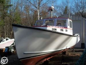 Used Duffy 35 Lobster Fishing Boat For Sale