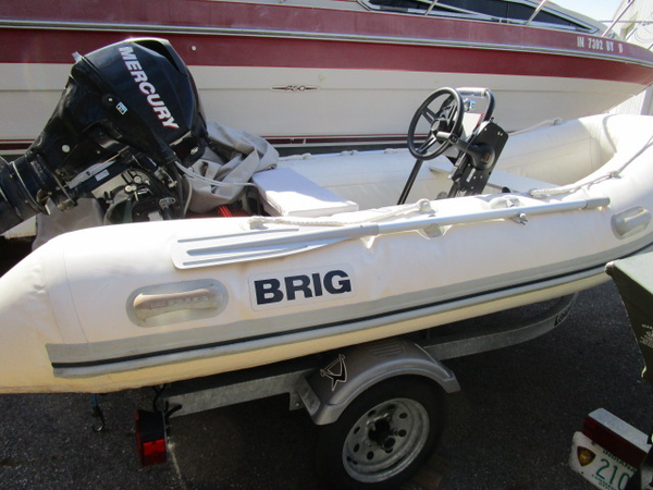 Used Brig F-360 Inflatable Boat For Sale