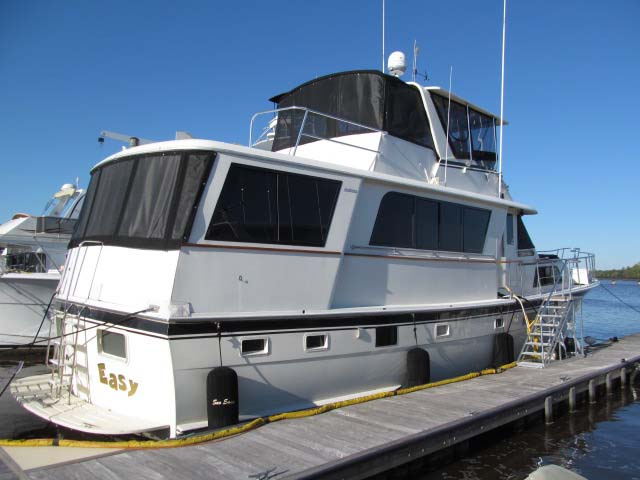 1978 Used Hatteras 58 Motor Yacht Motor Yacht For Sale