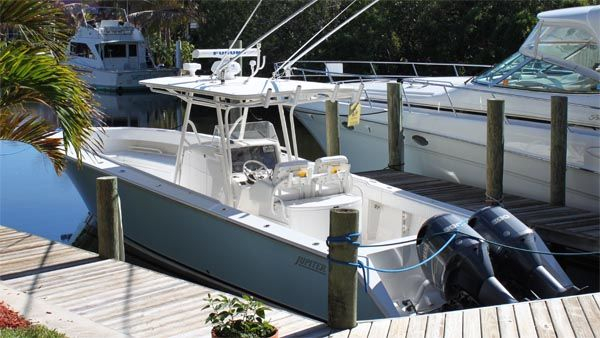 Used Jupiter Forward Seating Center Console Fishing Boat For Sale