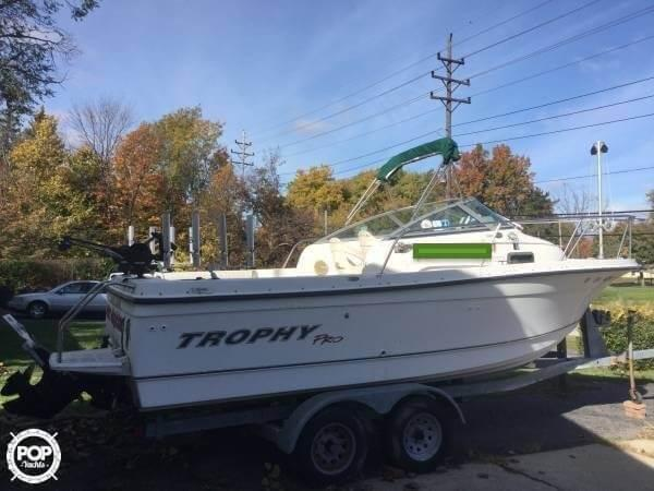 Used Trophy Pro 2052 Walkaround Fishing Boat For Sale