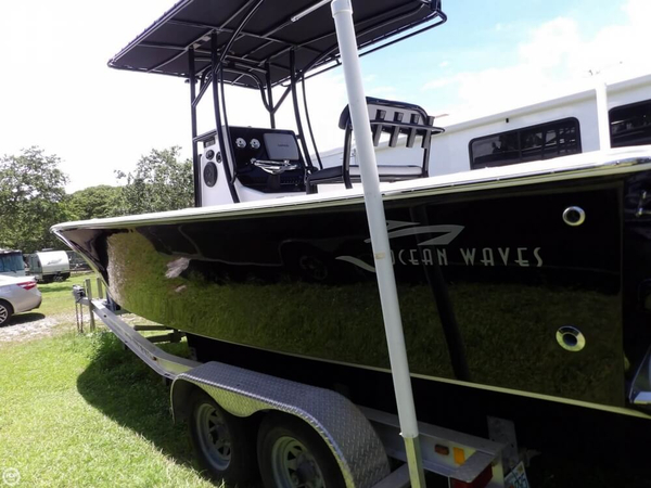 Used Ocean Wave 25 Sea Hawk Center Console Fishing Boat For Sale