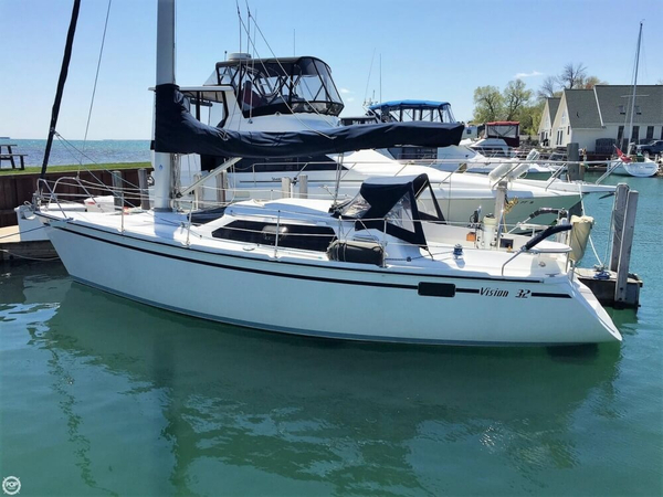 Used Hunter Vision 32 Racer and Cruiser Sailboat For Sale