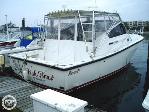 1991 used rampage 36 sports fishing boat for sale for Freeport fishing boats