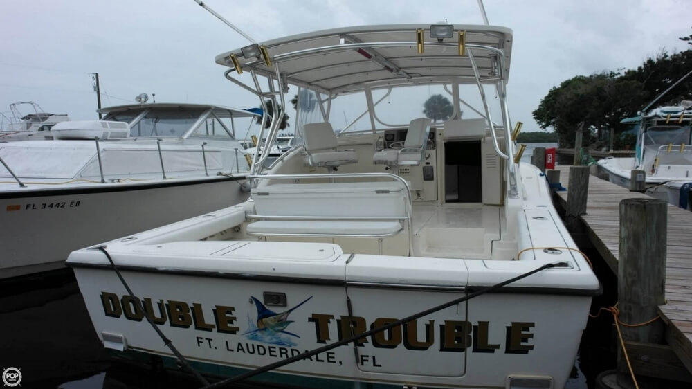 1996 used pursuit 3000 offshore express sports fishing for Tuna fishing boats for sale