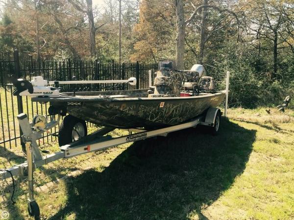 Used War Eagle 961 Blackhawk Aluminum Fishing Boat For Sale