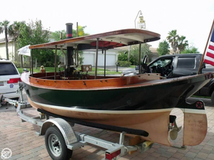 Used Welaka Landing 16 Steam Launch Antique and Classic Boat For Sale