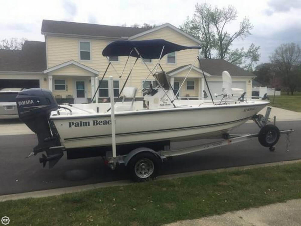 Used Palm Beach 1900 DL Bay CC Center Console Fishing Boat For Sale