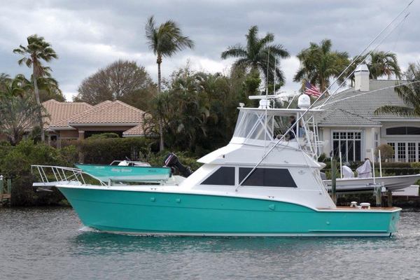 Used Hatteras 45 Convertible Sportfish Convertible Fishing Boat For Sale