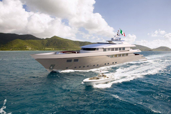 Used Nedship Expedition Style Motor Yacht Mega Yacht For Sale