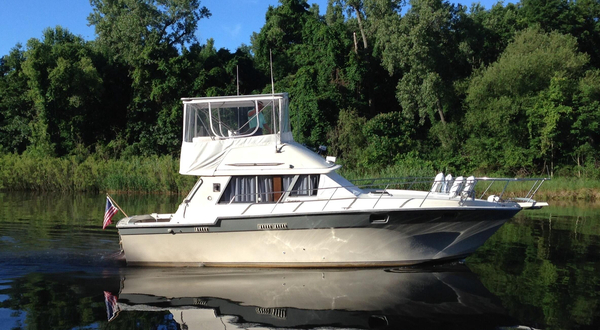 Used Silverton convertible/Sport Fish Flybridge Boat For Sale