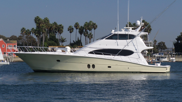 Used Hatteras 77 Convertible Sports Fishing Boat For Sale