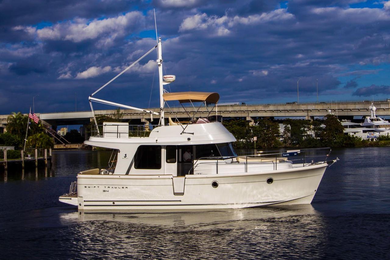 2018 New Beneteau Swift Trawler Motor Yacht For Sale
