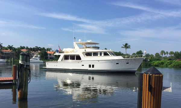 Used Offshore Voyager Extended Deck Motor Yacht For Sale