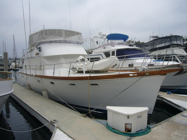 Used Santa Barbara Fly Bridge Sedan Motor Yacht For Sale