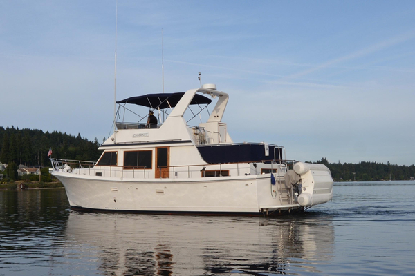 Used Monk/chb Trawler Boat For Sale