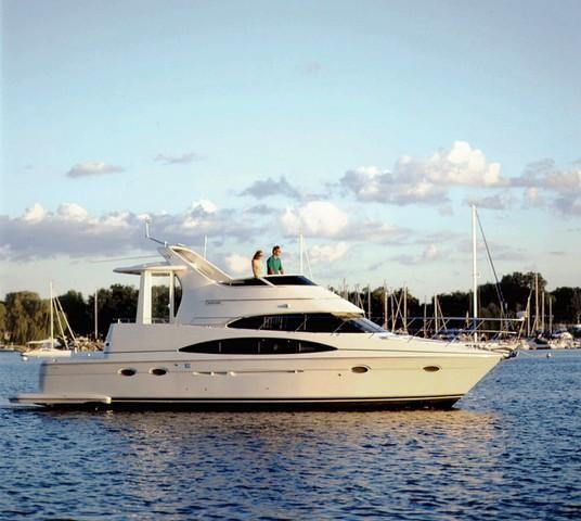 Used Carver 444 Cockpit Motor Yacht Cruiser Boat For Sale