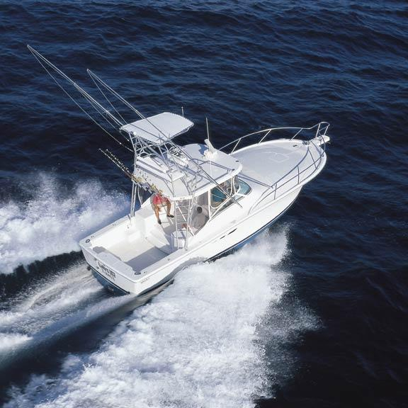 Used Luhrs 36 SX Saltwater Fishing Boat For Sale