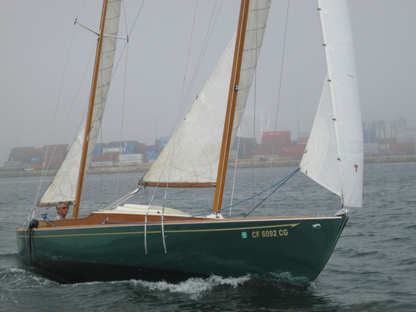 """Used Herreshoff """"Rozinante"""" Double Ended Canoe Yawl Antique and Classic Sailboat For Sale"""