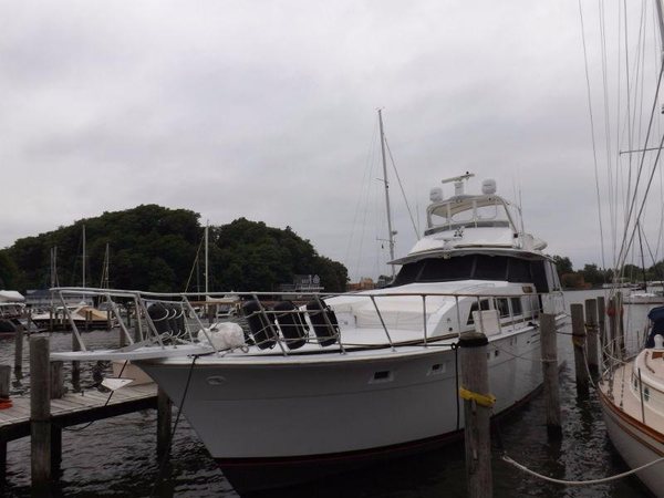 Used Bertram 58 Flybridge Motor Yacht Motor Yacht For Sale