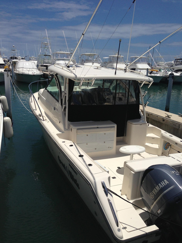 Used Pursuit OS 345 Offshore Freshwater Fishing Boat For Sale