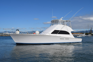 Used Post Marine 53 Convertible Fishing Boat For Sale