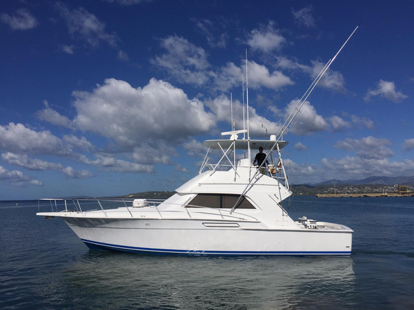 Used Bertram 43 Convertible Sports Fishing Boat For Sale