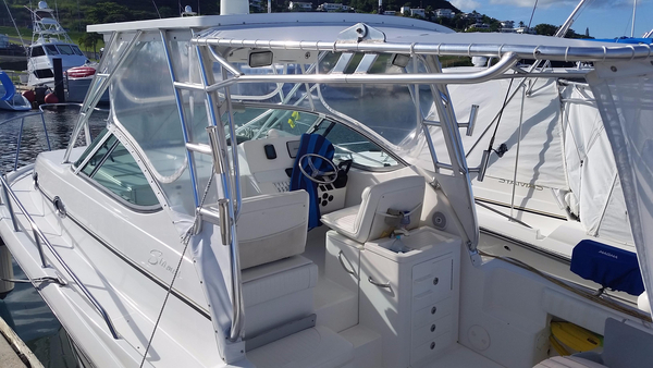 Used Stamas 320 Express Saltwater Fishing Boat For Sale