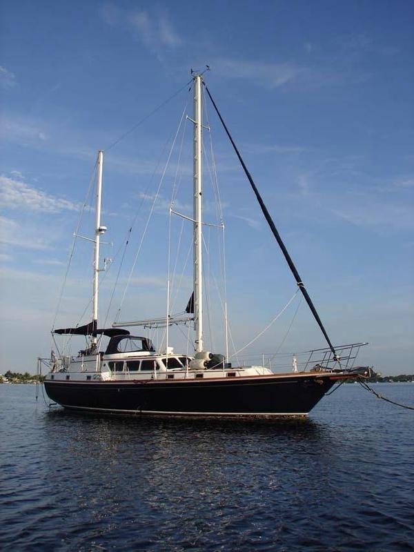 Used Gulfstar 47 Sailmaster Motorsailer Sailboat For Sale