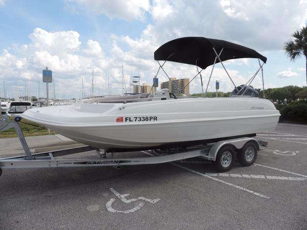 Used Hurricane SS 201 OB Deck Boat For Sale