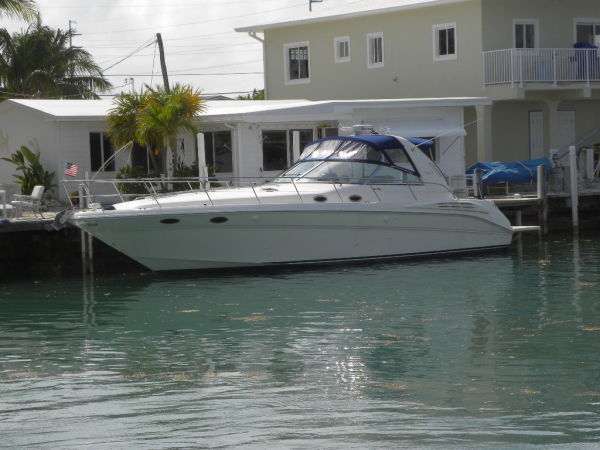 Used Sea Ray 400 Sundancer With Hyd. Lift Express Cruiser Boat For Sale