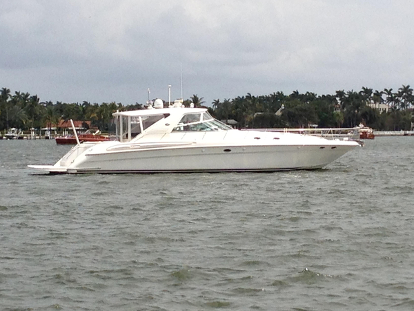 Used Sea Ray 600 CUSTOM Super Sunsport Express Cruiser Boat For Sale