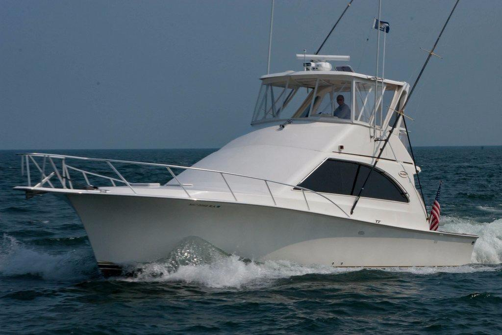 1998 used ocean yachts 45 super sport convertible fishing for Used sport fishing boats for sale