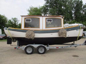 Used Beckmann Custom Trawler Boat For Sale