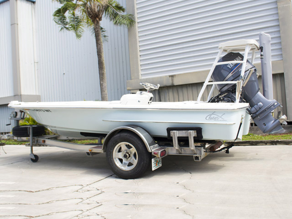 Used Chaos Bonefish Center Console Fishing Boat For Sale