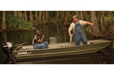 New Alumacraft 1442 Jon LW 15 Jon Boat For Sale