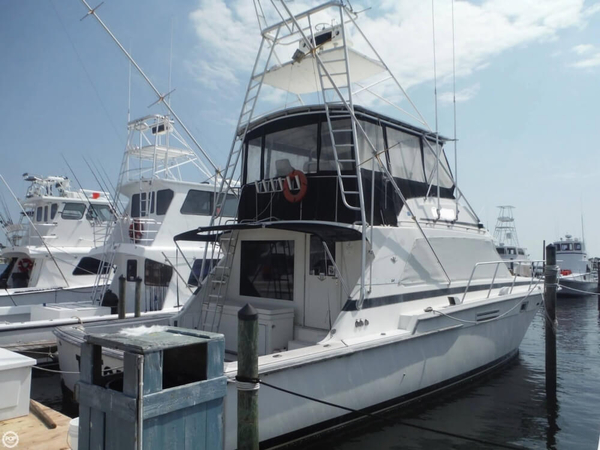 Used Bertram 54 Convertible Sports Fishing Boat For Sale