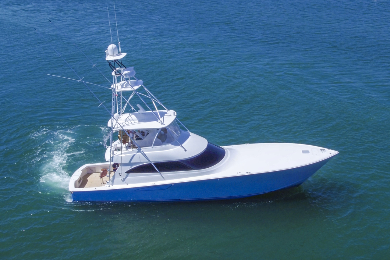2015 Used Viking Convertible Fishing Boat For Sale