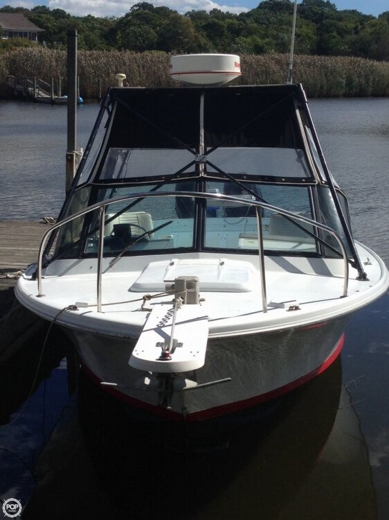 1962 Used Bertram 25 Custom Walkaround Fishing Boat For