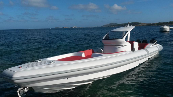 New Pirelli PZero 1400 Outboard Edition Rigid Sports Inflatable Boat For Sale