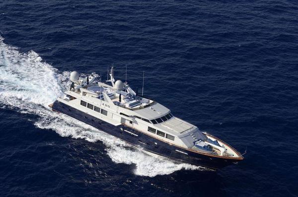 Used Broward Motoryacht Mega Yacht For Sale
