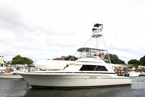 Used Bertram Sport Fish Sports Fishing Boat For Sale