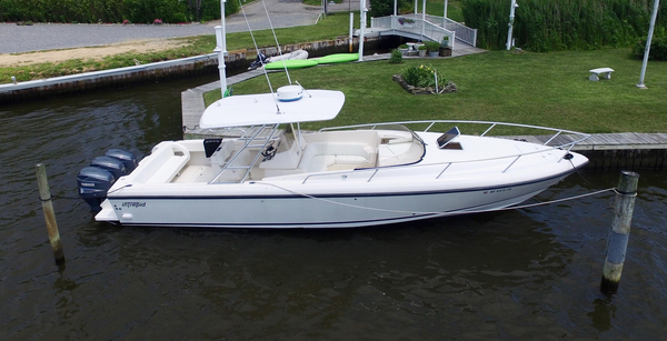 Used Intrepid 366 Cuddy Cabin Boat For Sale