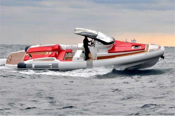 New Pirelli PZERO 1100 CABIN Rigid Sports Inflatable Boat For Sale