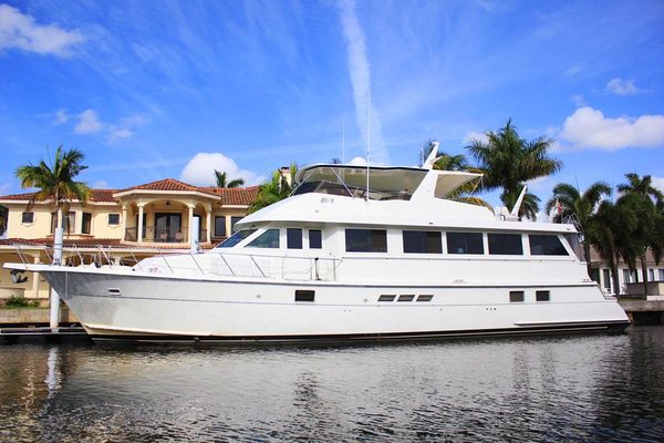 Used Hatteras Extended Aft Deck Cockpit Motor Yacht For Sale